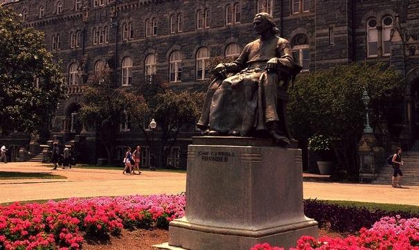 carroll statue